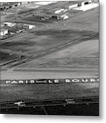 Paris Le Bourget Metal Print