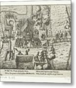 Parma Knighted In The Order Of The Golden Fleece, 1585, Anonymous, After Frans Hogenberg, 1613 - 161 Metal Print