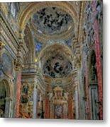 Parrocchia Santa Maria In Vallicella Metal Print