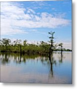 Pasquotank River North Carolina Metal Print