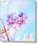 Pastels In The Sky Metal Print