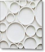 Pattern Of Wall Metal Print