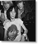 Patti Smith Backstage At The Whisky Metal Print