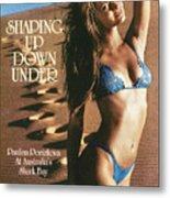 Paulina Porizkova Swimsuit 1985 Sports Illustrated Cover Metal Print