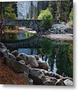Peaceful Yosemite Metal Print