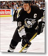 Penguins V Maple Leafs Metal Print