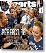 Perfect 10 Geno Auriemma, In His Own Direct Unapologetic Sports Illustrated Cover Metal Print