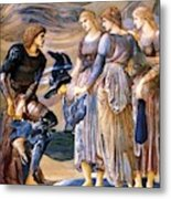 Perseus And The Sea Nymphs 1877 Metal Print