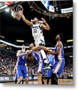Philadelphia 76ers V Minnesota Metal Print