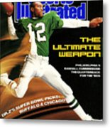 Philadelphia Eagles Qb Randall Cunningham, 1989 Nfl Sports Illustrated Cover Metal Print