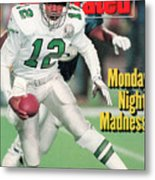 Philadelphia Eagles Qb Randall Cunningham... Sports Illustrated Cover Metal Print