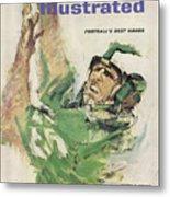 Philadelphia Eagles Tommy Mcdonald Sports Illustrated Cover Metal Print