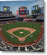 Philadelphia Phillies V. New York Mets Metal Print