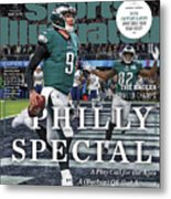 Philly Special The Eagles, Super Bowl Lii Champs Sports Illustrated Cover Metal Print