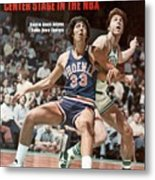 Phoenix Suns Alvan Adams, 1976 Nba Finals Sports Illustrated Cover Metal Print