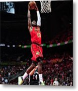 Phoenix Suns V Atlanta Hawks Metal Print