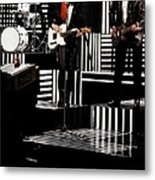 Photo Of Chrissie Hynde And Martin Metal Print