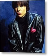 Photo Of Chrissie Hynde And Pretenders Metal Print