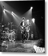 Photo Of Led Zeppelin And Robert Plant Metal Print