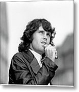 Photo Of Morrison Jim Metal Print