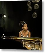 Photo Of Nina Simone Metal Print