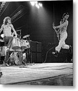 Photo Of Pete Townshend And Roger Metal Print