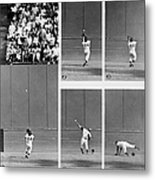 Photo Sequence Willie Mays Makes His Metal Print
