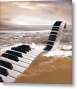 Piano Fantasy Metal Print