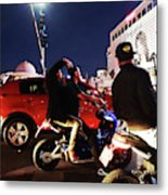 Picture Of Picture Taker Metal Print