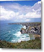 Picturesque Cornwall - Bedruthan Metal Print