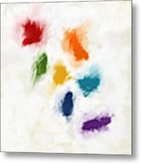 Piece Of The Rainbow- Art By Linda Woods Metal Print