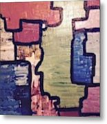 Pieces Of The Puzzle Metal Print