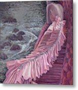 Pink Taffeta Metal Print