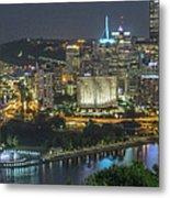 Pittsburgh Lights Metal Print