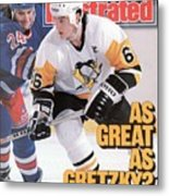 Pittsburgh Penguins Mario Lemeiux... Sports Illustrated Cover Metal Print