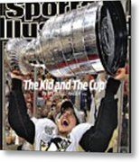 Pittsburgh Penguins Sidney Crosby, 2009 Nhl Stanley Cup Sports Illustrated Cover Metal Print