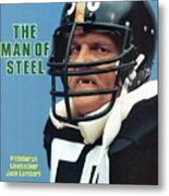 Pittsburgh Steelers Jack Lambert. Sports Illustrated Cover Metal Print