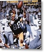 Pittsburgh Steelers Lynn Swann, Super Bowl X Sports Illustrated Cover Metal Print