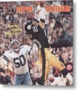 Pittsburgh Steelers Rocky Bleier, Super Bowl Xiii Sports Illustrated Cover Metal Print