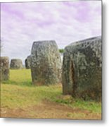 Plain Of Jar Metal Print