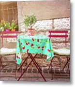 Please Have A Seat Metal Print