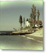 Point Betsie Lighthouse 2 Metal Print
