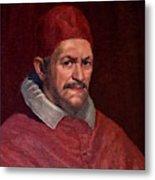 Pope Innocent X Metal Print