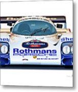 Porsche 962 Al Holbert Racing Metal Print