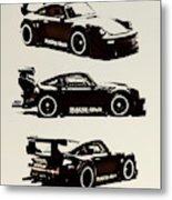 Porsche Rwb 930 Metal Print