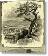 Port Jervis And Vicinity Metal Print