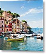 Portofino, Liguria, Italy Metal Print