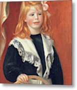 Portrait De Jean Renoir Metal Print