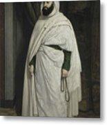 Portrait Of Abdelkader Ibn Muhieddine Metal Print