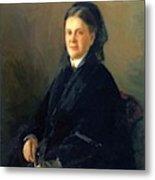 Portrait Of Anna Olsufyeva Metal Print